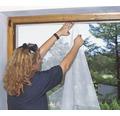 Síť proti hmyzu, okno, bílá 1,0x1,0m