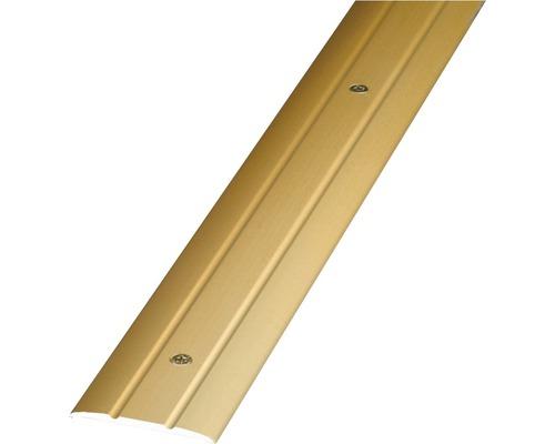 ALU přechodový profil, zlatý, 1m 38mm; šroubovací (předvrtaný)
