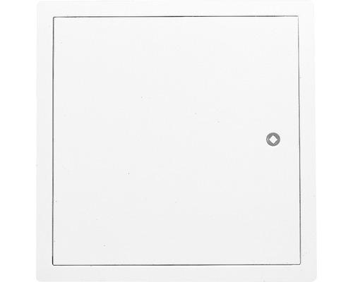 Revizní dvířka z ocelového plechu Softline bílé 25 x 25 cm