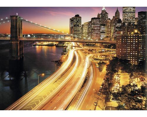 Fototapeta NYC Lights 368 x 254 cm