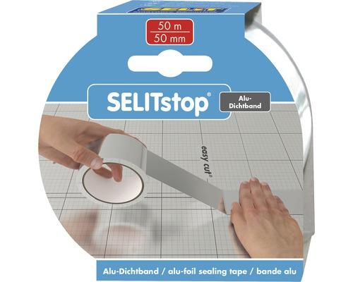 Těsnicí hliníková páska Selit Stop 50 m samolepicí