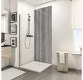 Zadní stěna sprchového koutu Schulte Decodesign dekor kámen beton 150x255 cm