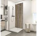 Zadní stěna sprchového koutu Schulte Decodesign Dekor Staré dřevo Severní moře 100x210 cm