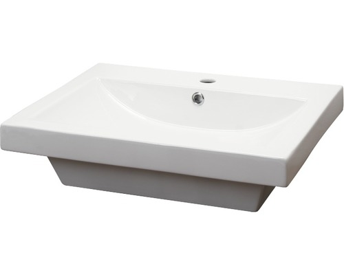 Umyvadlo Form & Style Madlen 60x45 cm bílé