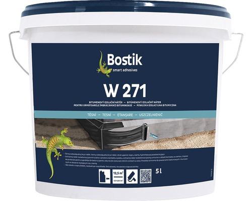 Bitumenový izolační nátěr Bostik W 271, 5 l