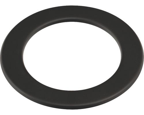 Růžice kouřová 200 mm černá