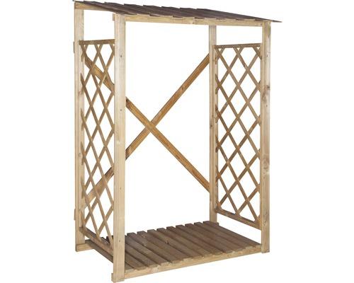 Přístřešek na dřevo 125 x 70 x 185 cm tlakově impregnovaný