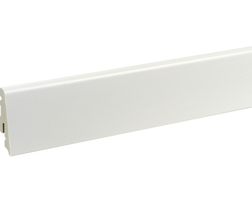 Soklová lišta polystyren bílá13,5x58x2400 mm