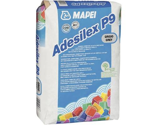 Lepidlo na obklady a dlažbu MAPEI Adesilex P9 C2TE mrazuvzdorné 25 kg šedé