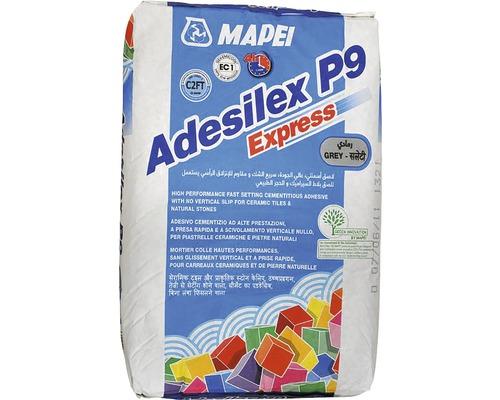Lepidlo na obklady a dlažbu MAPEI Adesilex P9 Express C2TE mrazuvzdorné 25 kg šedé