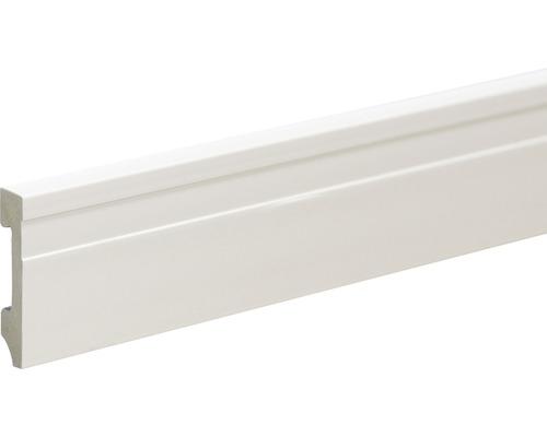 Soklová lišta polystyren bílá15x70x2400 mm