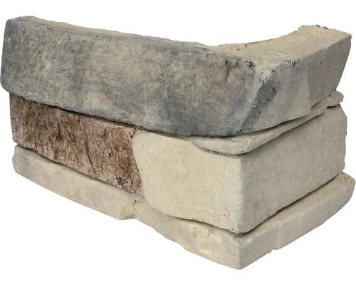 Obkladový kámen SLANEC 004 BLEND CREAM roh