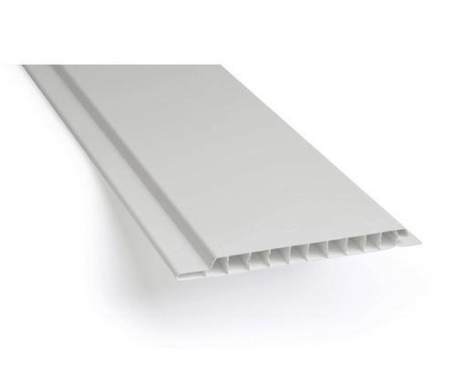Plastové palubky venkovní 3000 x 100 x 10 mm bílé balení 10 ks