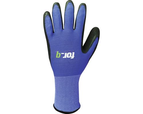 Zahradní rukavice for_q easy vel. XL modré