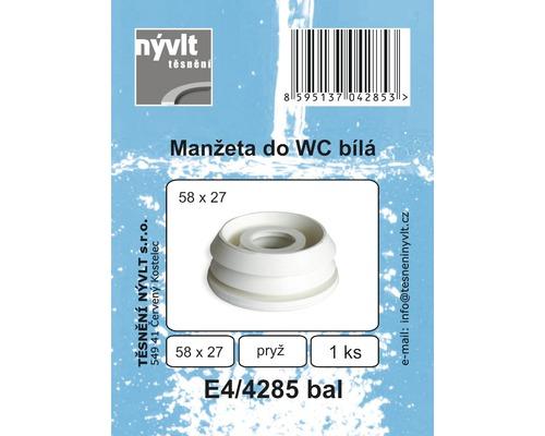 Redukce bílá 27x58 mm