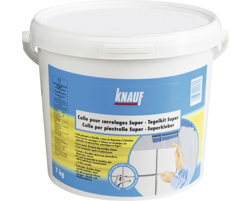 Disperzní lepidlo na obklady KNAUF Superkleber D1TE 7 kg