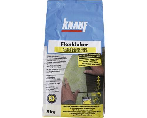 Flexibilní lepidlo na obklady a dlažbu KNAUF Flexkleber C2TE S1 mrazuvzdorné 5 kg