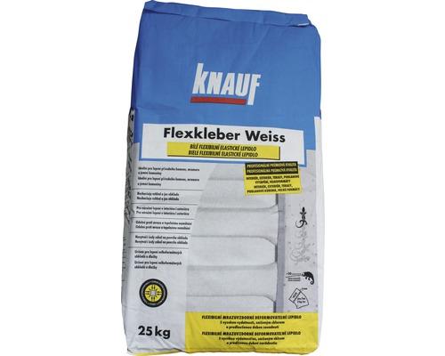 Flexibilní lepidlo na obklady a dlažbu KNAUF Flexkleber C2TE S1 bílé mrazuvzdorné 25 kg