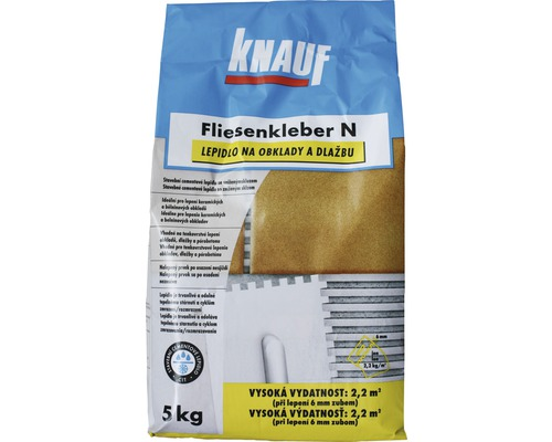 Lepidlo na obklady a dlažbu KNAUF Fliesenkleber N C1T 5 kg