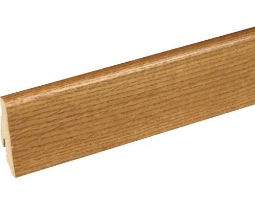 Soklová lišta Skandor dub Toffee SU60L 19x58x2400 mm
