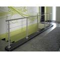 Nerezový sloupek zábradlí Pertura 850 mm, podpěra pro montáž do podlahy (24)