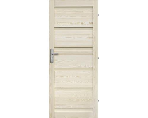 Interiérové dveře masivní Genewa plné, 70 P, borovice