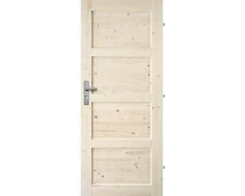Interiérové dveře masivní Lizbona plné, 60 P, borovice