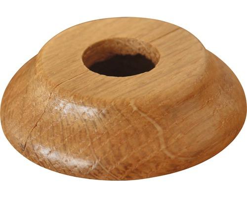 Rozeta dělená Ø 31 mm, dub lakovaný
