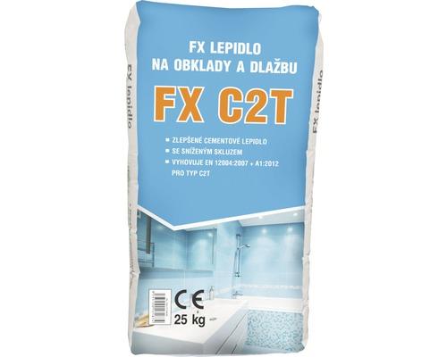 Lepidlo na obklady a dlažbu FX C2T mrazuvzdorné 25 kg