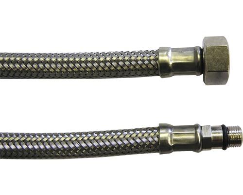 """Flexibilní hadice M3/8""""xM10X1"""" 40 cm DN8 bateriová, nerez"""