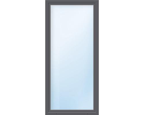 Balkónové dveře plastové jednokřídlé ARON Basic bílé/antracit 850 x 2000 mm DIN levé