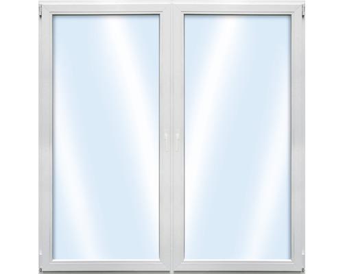 Balkónové dveře plastové dvoukřídlé ARON Basic bílé 1300 x 2100 mm