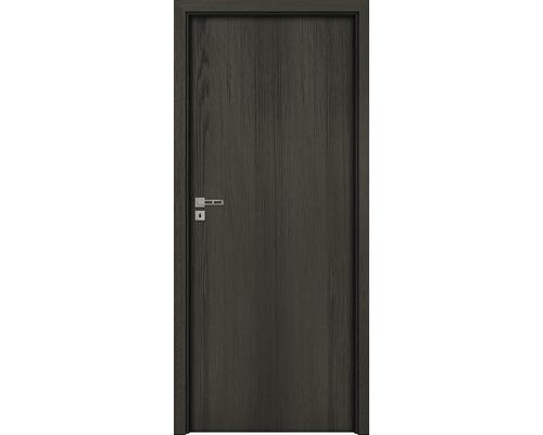 Interiérové dveře Single 1 plné 80 L antracit