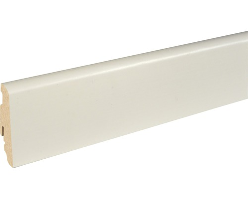 Soklová lišta Skandor SU060L bílá fóliovaná 19x58x2500 mm