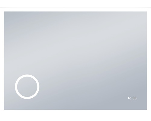 Zrcadlo do koupelny DSK LED Silver Venus 100x70 cm