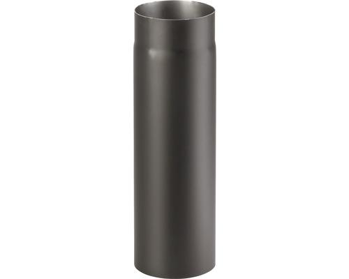 Kouřová roura 145/500 mm silnostěnná černá