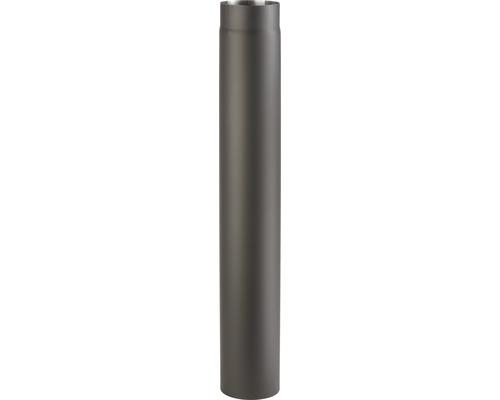 Kouřová roura 145/1000 mm silnostěnná černá