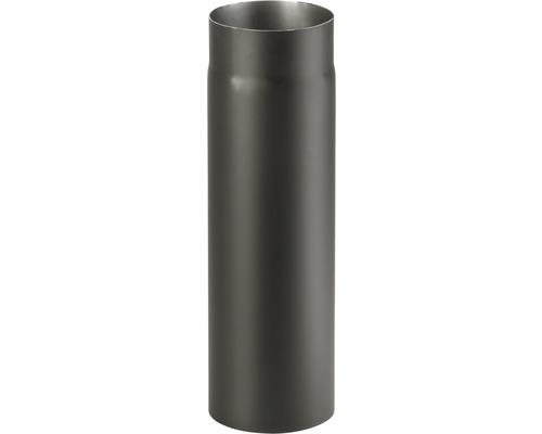 Kouřová roura 180/500 mm silnostěnná černá