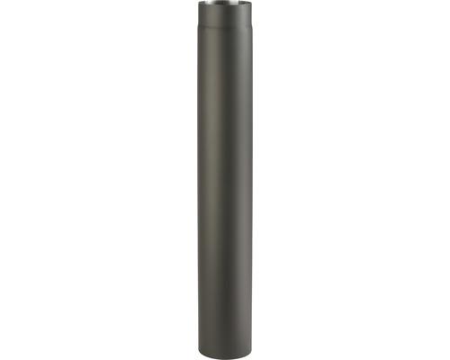 Kouřová roura 200/1000 mm silnostěnná černá