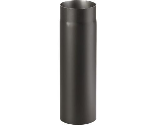 Kouřová roura 200/500 mm silnostěnná černá