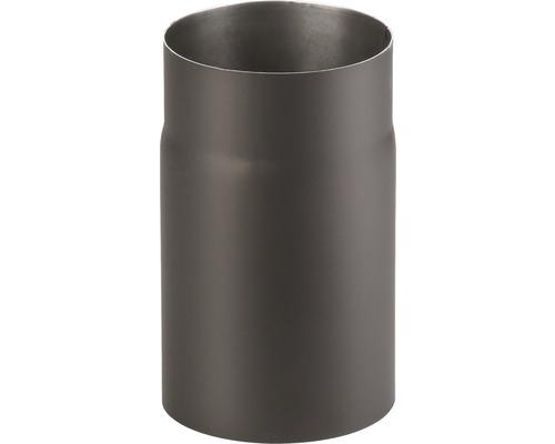 Kouřová roura 120/250 mm silnostěnná černá