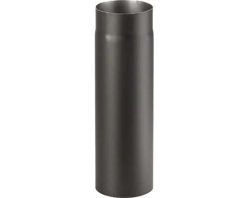 Kouřová roura 120/500 mm silnostěnná černá