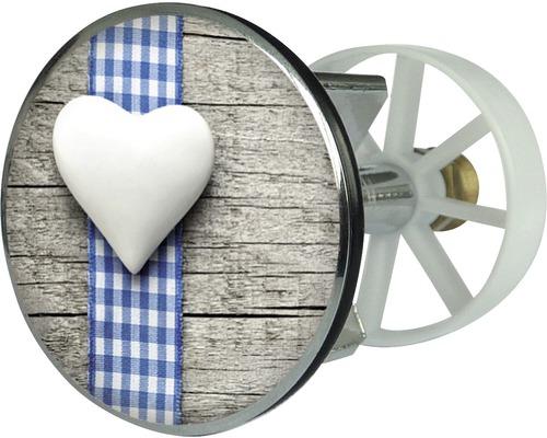 Výpust umyvadlová dekor srdce