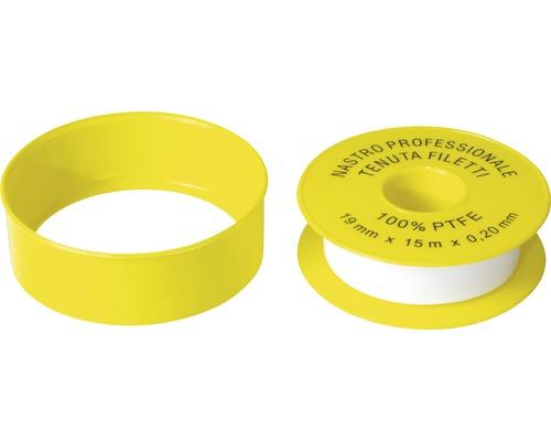 Těsnící teflonová páska pro plyn 19x0,1 mm 15 m