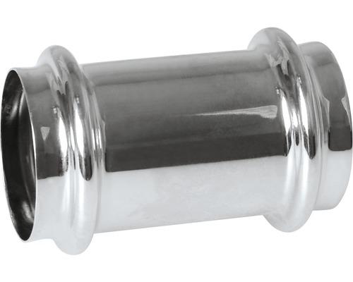 Mosazná univerzální spojka s dvojitým osazením ø 32 mm chrom