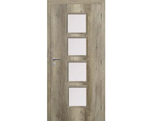 Interiérové dveře Solodoor Zenit 23 prosklené 80 P dub canyon (NA OBJEDNÁVKU DO 2 TÝDNŮ)