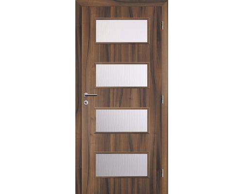 Interiérové dveře Solodoor Zenit 28 prosklené 80 P ořech (NA OBJEDNÁVKU DO 2 TÝDNŮ)