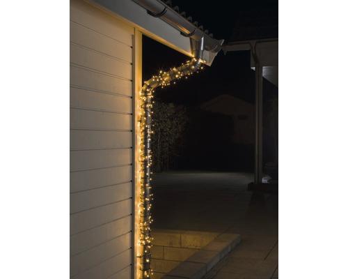 Světelný řetěz Konstsmide Micro 20 LED, venkovní a vnitřní, jantarové světlo