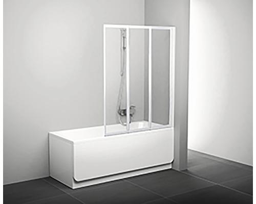 Vanová zástěna RAVAK VS3 100 White+Rain 795P010041