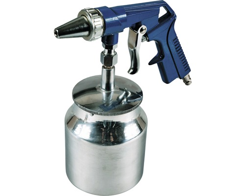 Pískovací pistole 1000 ml, spodní kovová nádobka